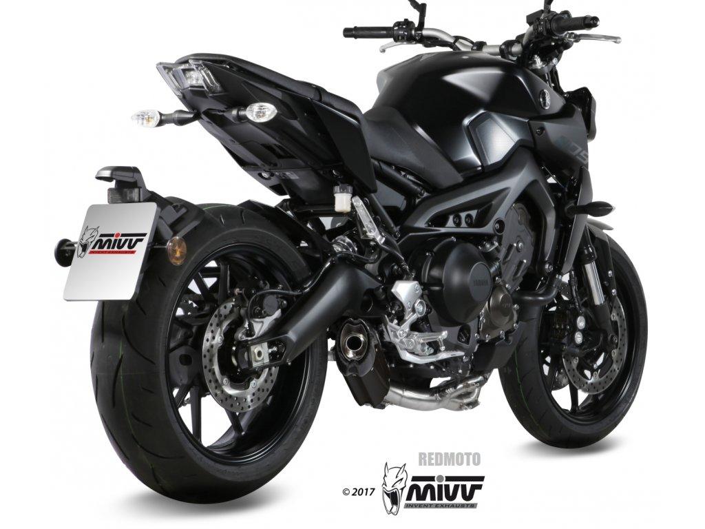 Výfuk MIVV Suono BLACK / Yamaha MT-09 (14-20)