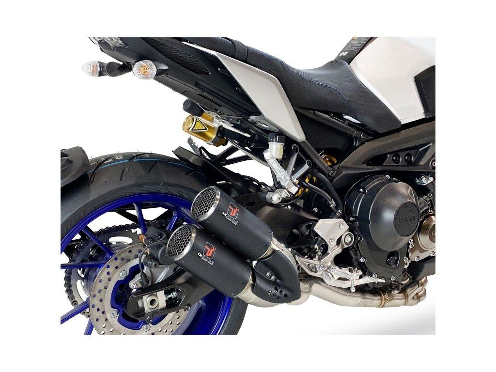 Výfuk IXRACE PURE Inox / Yamaha MT-09 (14-20) / Yamaha XSR 900 (16-20)