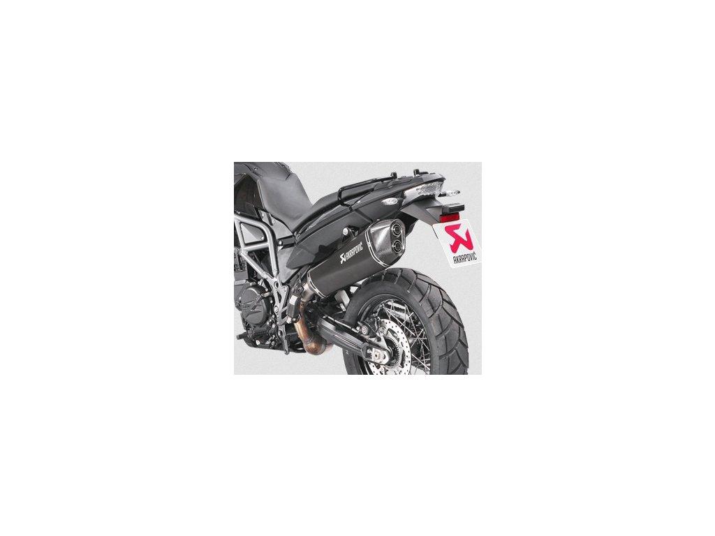 Výfuk Akrapovič Titan Hexagon BLACK / S-B8SO6-HZAABL / BMW F 700 GS (13-17) / BMW F 800 GS (08-17)
