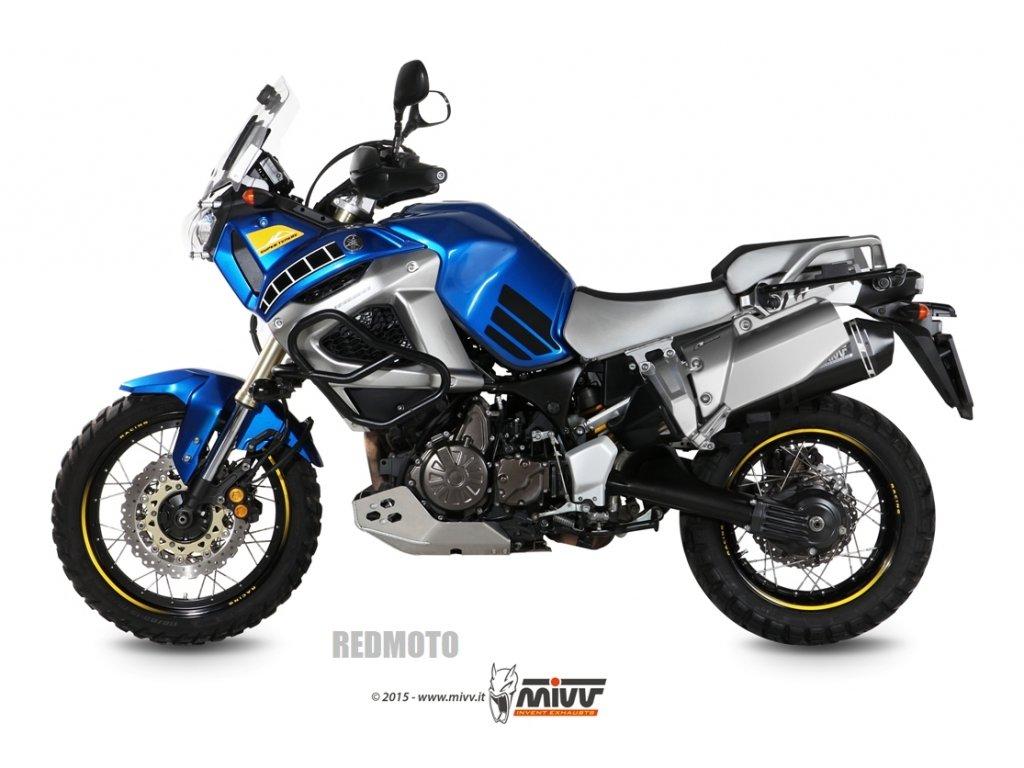 Výfuk MIVV Speed Edge Inox BLACK / Yamaha XT 1200Z Super Ténéré (10-20)