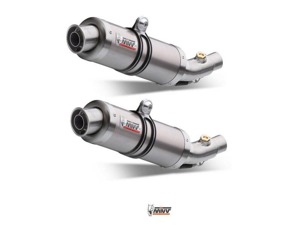 Výfuky MIVV CARBON GP / TITAN GP / KTM 950 SM Supermoto / R (05-08) / KTM 990 SM Supermoto / R / (07-13)