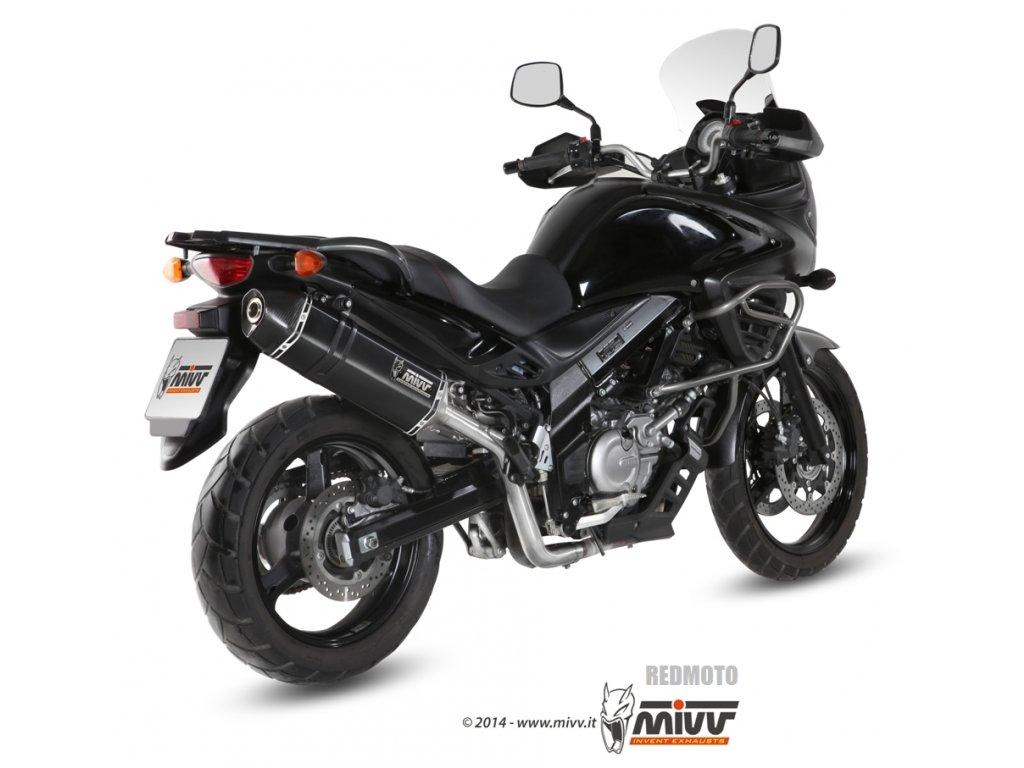 Výfuk MIVV Speed Edge BLACK / Suzuki DL 650 V-Strom (12-16)