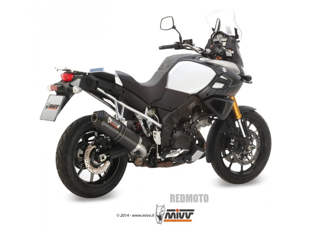 Výfuk MIVV KARBON OVÁL / Suzuki DL 1000 V-STROM (14-19)