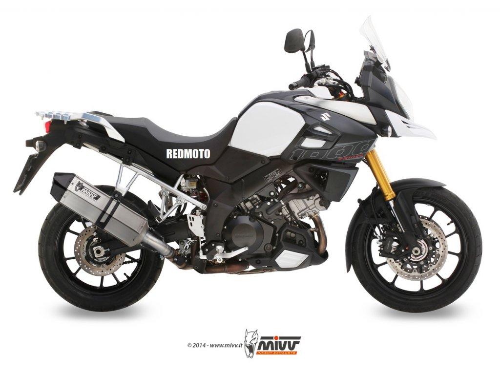 Výfuk MIVV Speed Edge / Suzuki DL 1000 V-STROM (14-19)