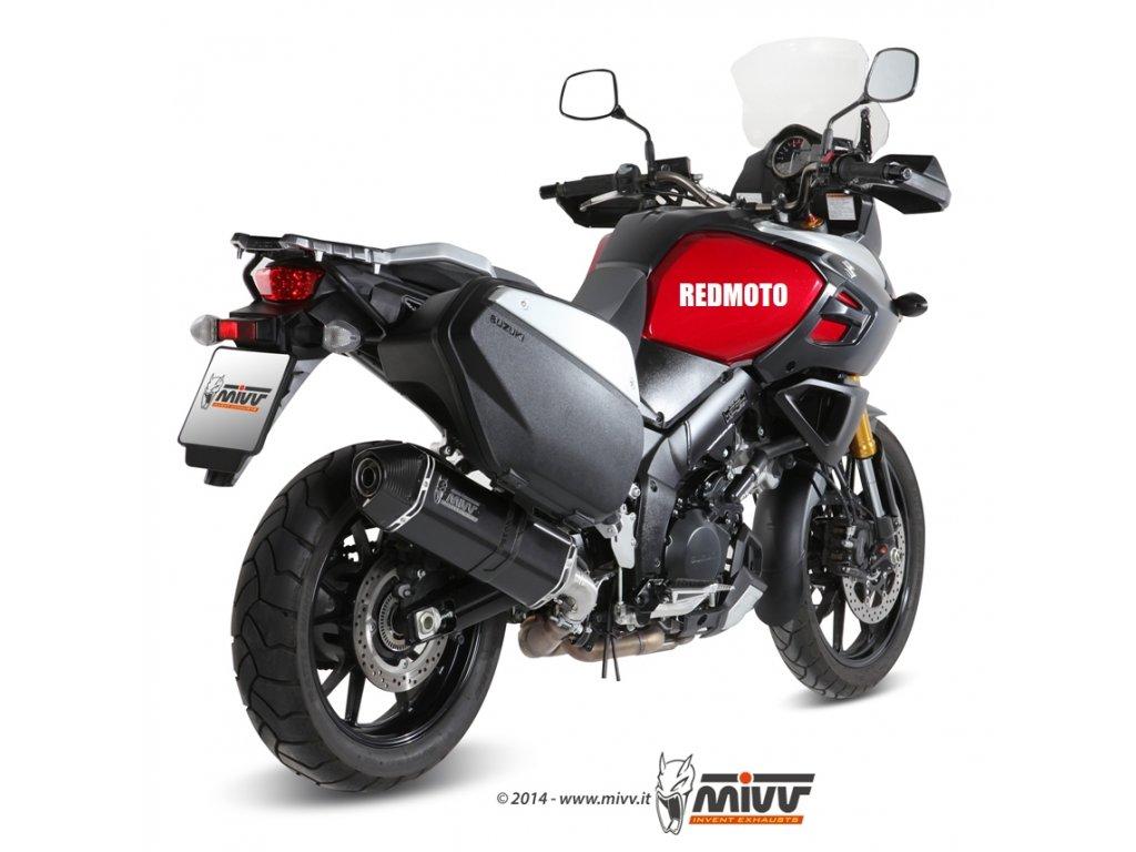 Výfuk MIVV Speed Edge BLACK / Suzuki DL 1000 V-STROM (14-19)