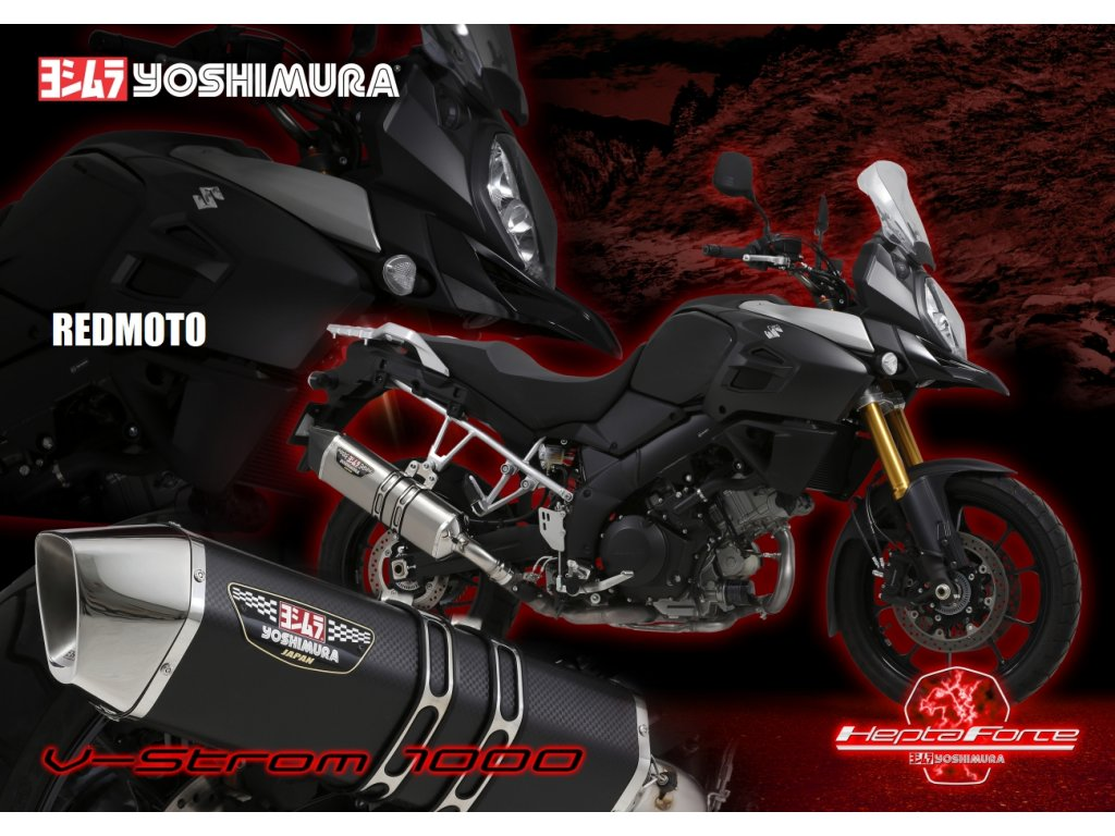 Výfuk Yoshimura Hepta Force / Suzuki DL 1000 V-STROM (14-16)