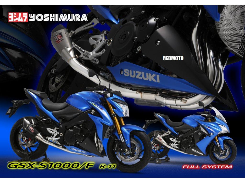 Výfuk Yoshimura R11 / Suzuki GSX-S 1000 / F (15-19)
