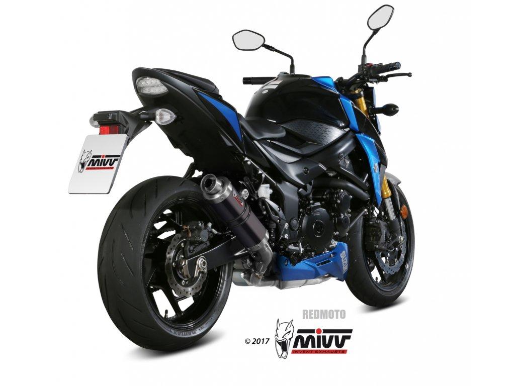 Výfuk MIVV GP / Suzuki GSX-S 750 (17-21)