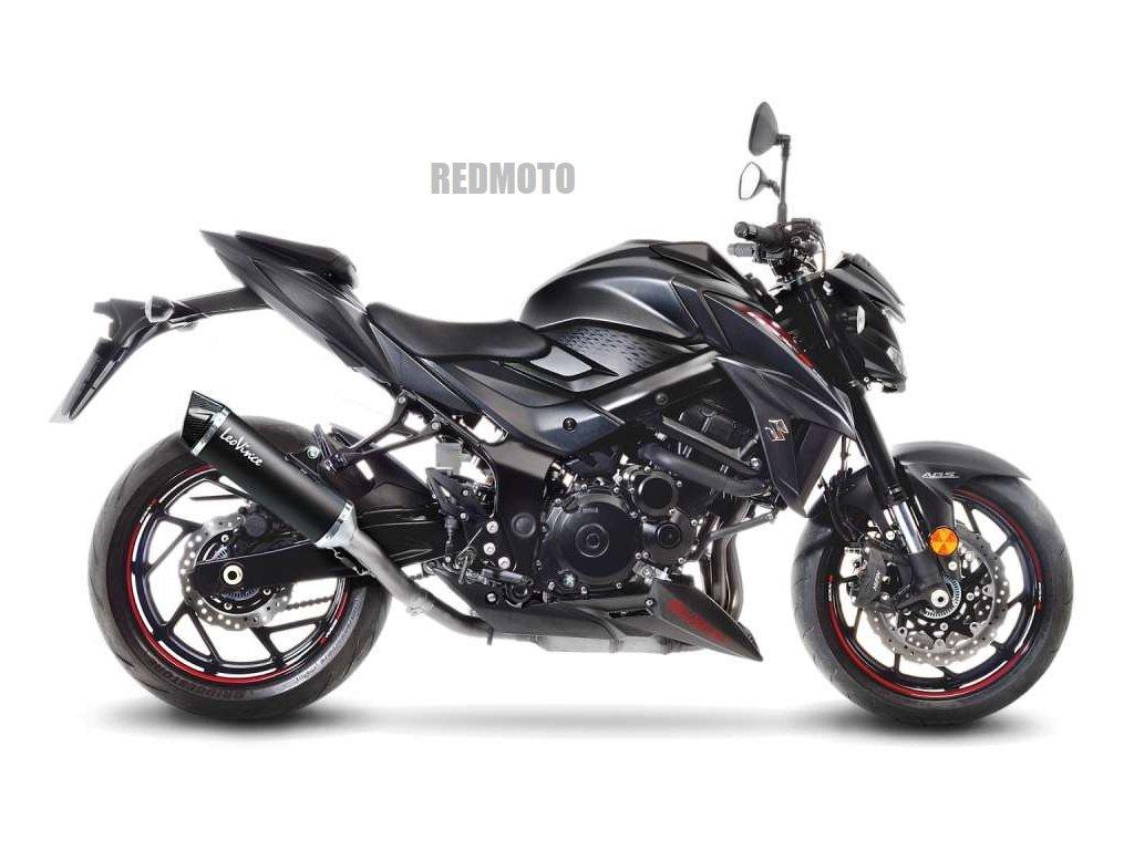 Výfuk Leo Vince NERO / Suzuki GSX-S 750 (17-19)