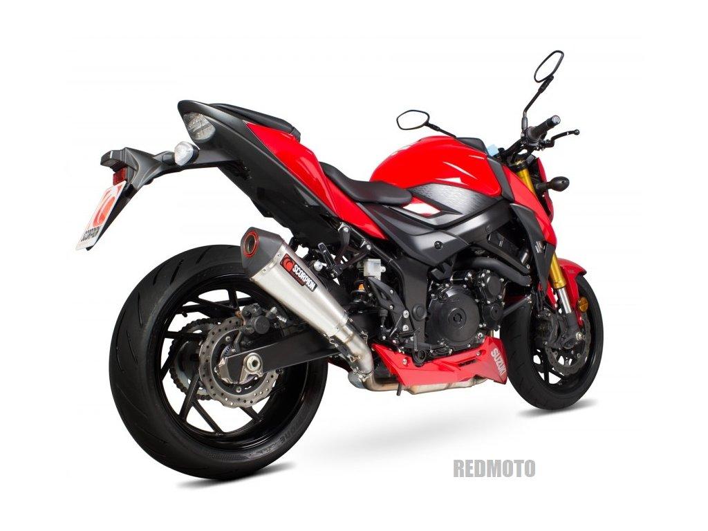 Výfuk Scorpion Serket Taper Nerez / Suzuki GSX-S 750 (17-19)