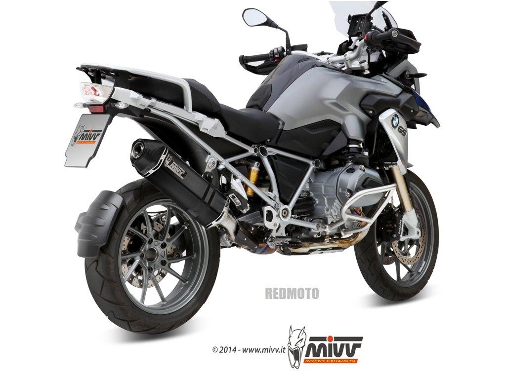 Výfuk MIVV Speed Edge BLACK / BMW R 1200 GS / Adventure (13-18)