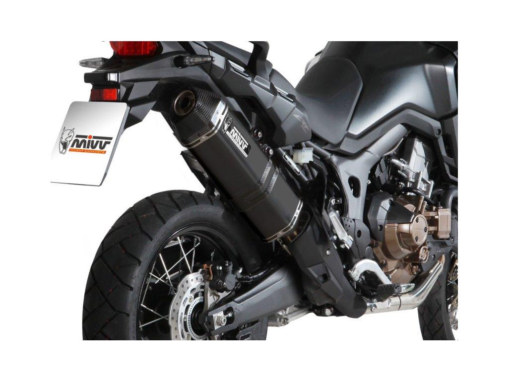Výfuk MIVV Speed Edge BLACK / Honda CRF 1000L Africa Twin / DCT (16-19)