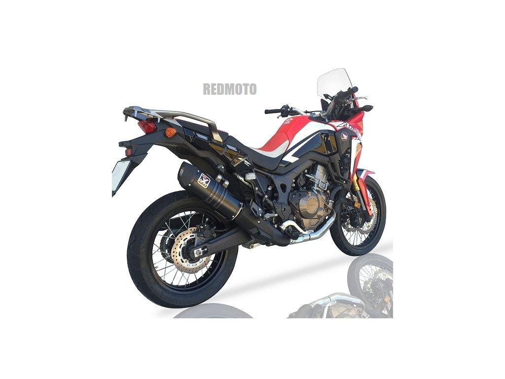 Výfuk IXIL Hexoval Xtrem BLACK / Honda CRF 1000L Africa Twin / DCT (16-17)