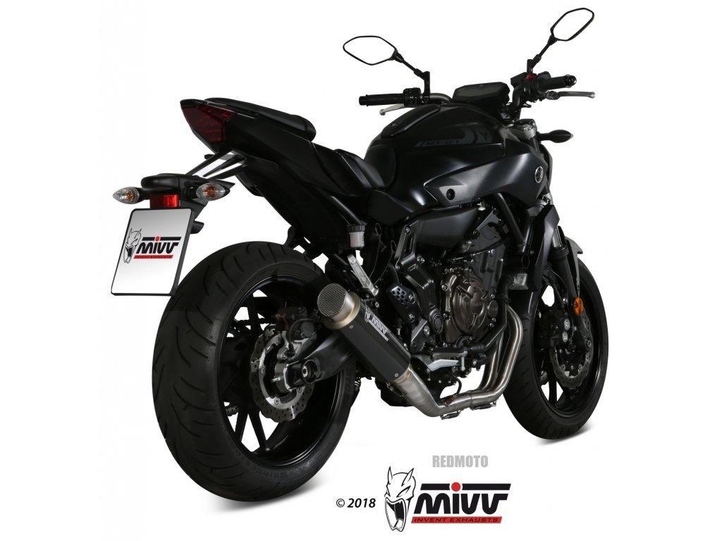 Výfuk MIVV GP PRO KARBON / Yamaha MT-07 (14-20)