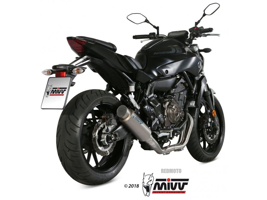 Výfuk MIVV GP PRO TITAN / Yamaha MT-07 (14-20)