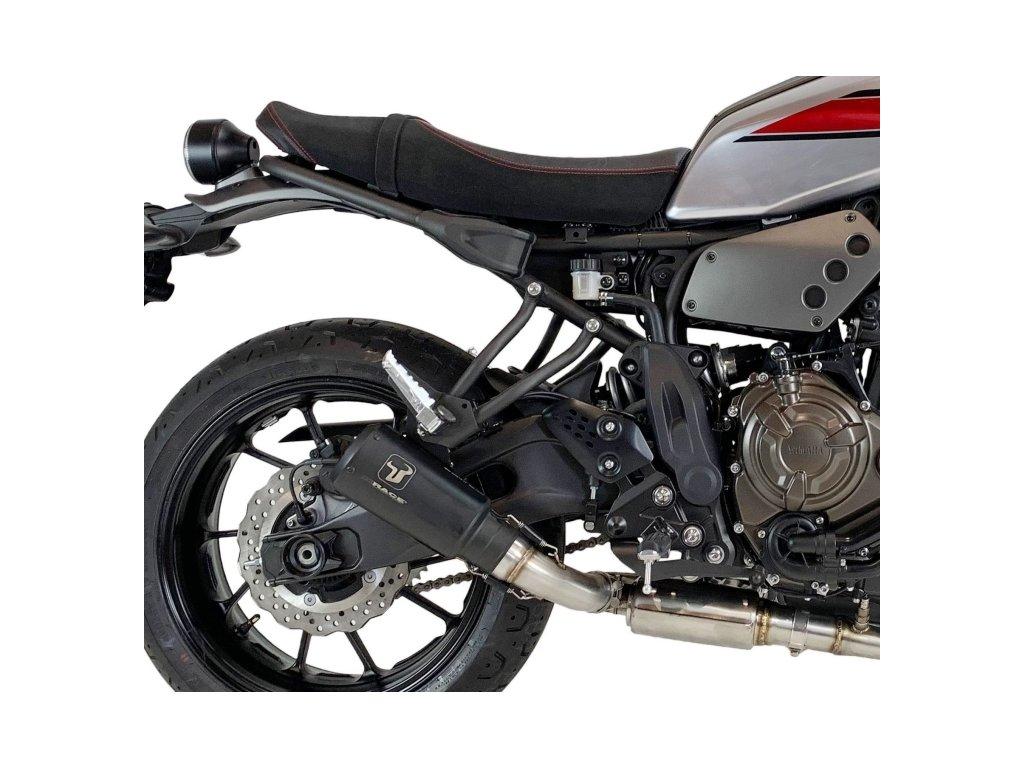 Výfuk IXRACE MK2 BLACK / Yamaha XSR 700 (16-20)
