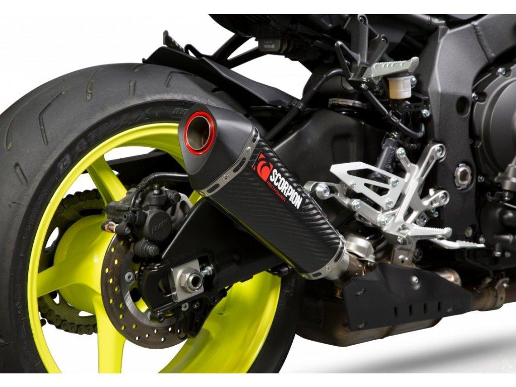 Výfuk Scorpion KARBON Serket Taper / Yamaha MT-10 / ABS / SP (16-20)