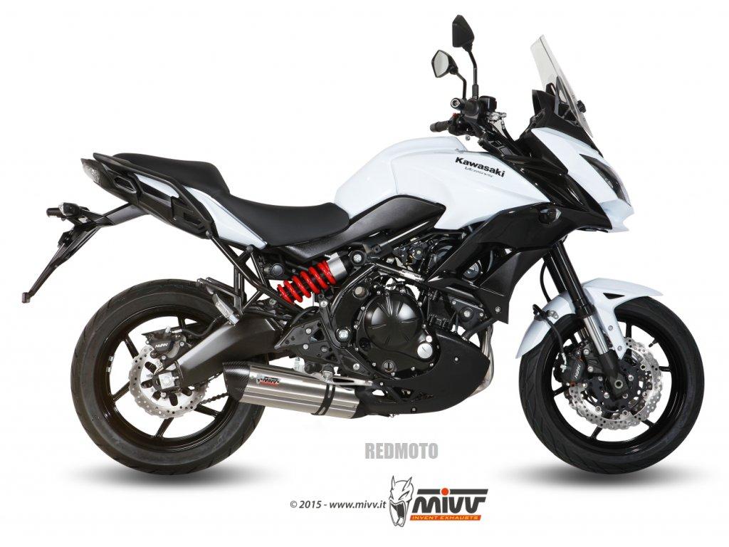 Výfuk MIVV Suono Inox / Suono Black - Kawasaki Versys 650 (15-16)