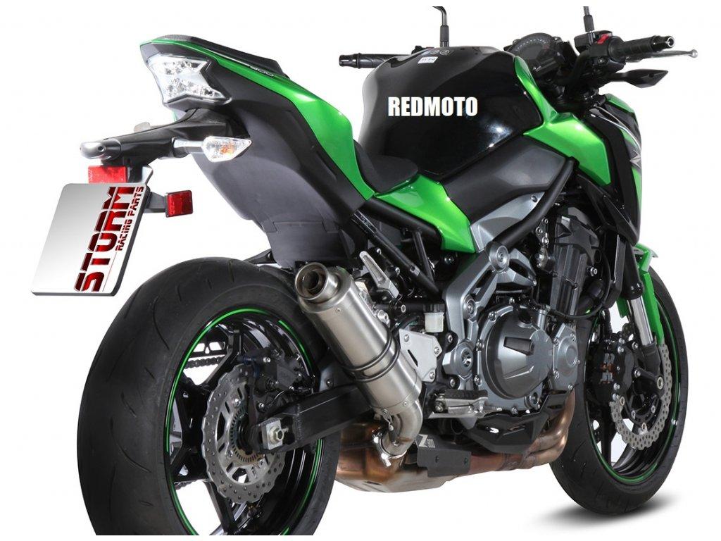 Výfuk MIVV STORM GP INOX / Kawasaki Z900 (17-19)