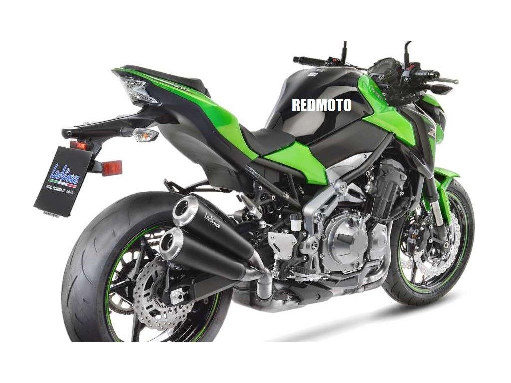 Výfuk Leo Vince GP Duals BLACK / Kawasaki Z900 (17-19)