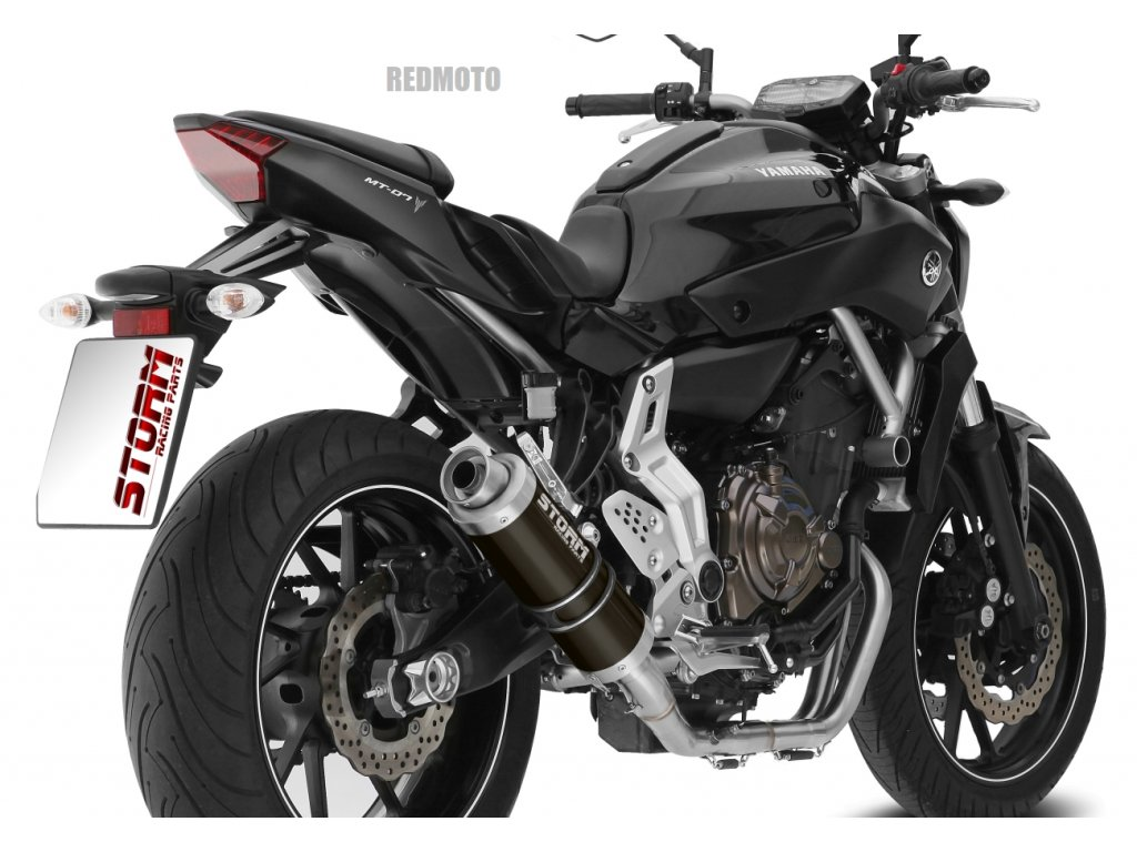 Výfuk MIVV STORM GP NERO BLACK / Yamaha MT-07 (14-20)