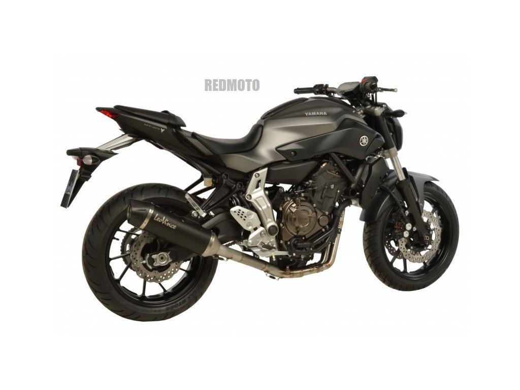 Výfuk Leo Vince NERO / Yamaha MT-07 (14-16)