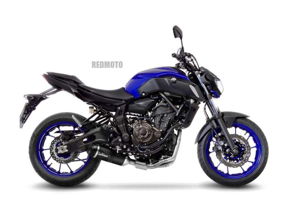 Výfuk Leo Vince LV One Evo BLACK / Yamaha MT-07 (17-20) / MT-07 TRACER (16-19) / XSR 700 (16-20)