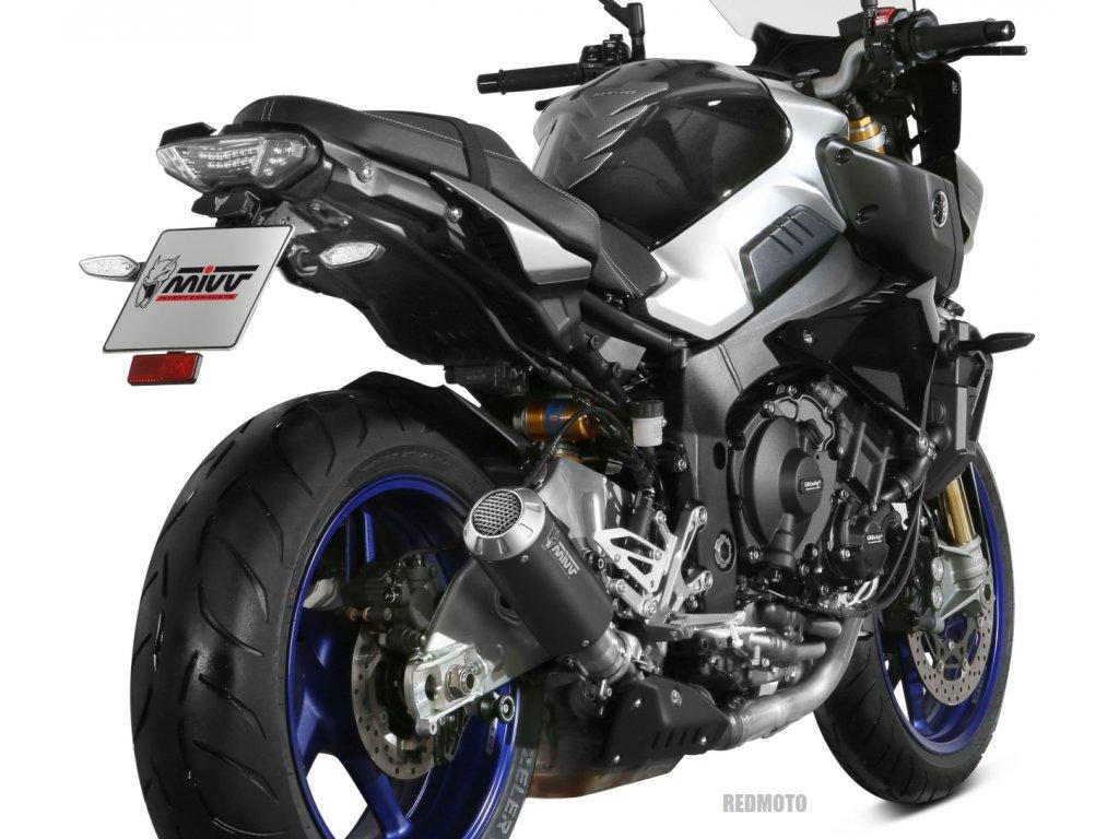 Výfuk MIVV MK3 BLACK INOX NERO / Yamaha MT-10 / ABS / SP (16-20)