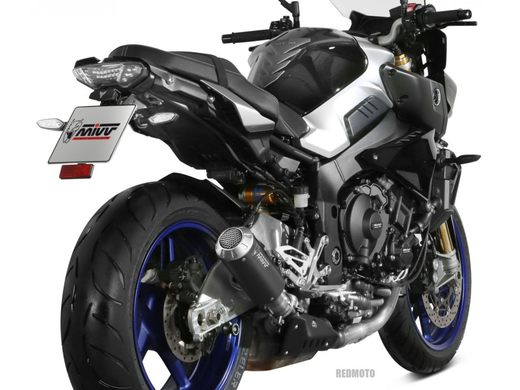 Výfuk MIVV MK3 BLACK INOX NERO / Yamaha MT-10 / ABS / SP (16-21)