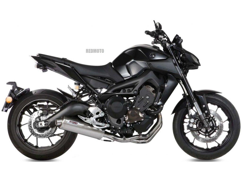 Výfuk MIVV STORM Ovál Inox / Yamaha MT-09 (14-20)