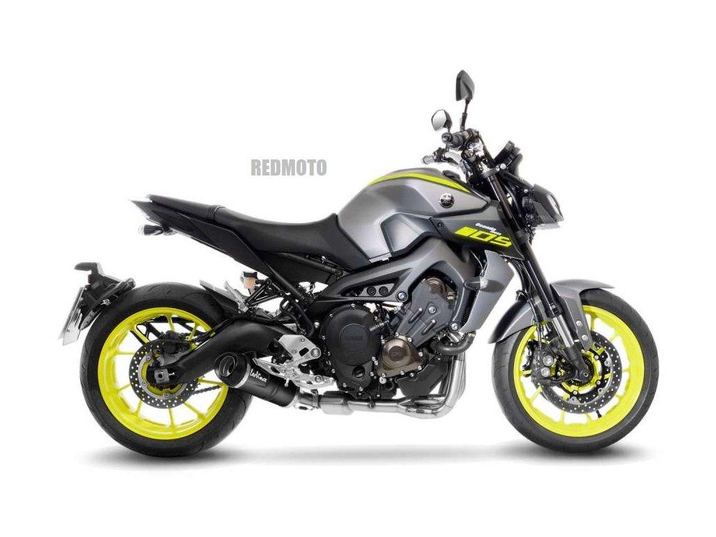 Výfuk Leo Vince LV ONE EVO BLACK / KAT EURO4 / Yamaha MT-09 (17-20) / TRACER 900 - GT (17-20) / XSR 900 (16-20)