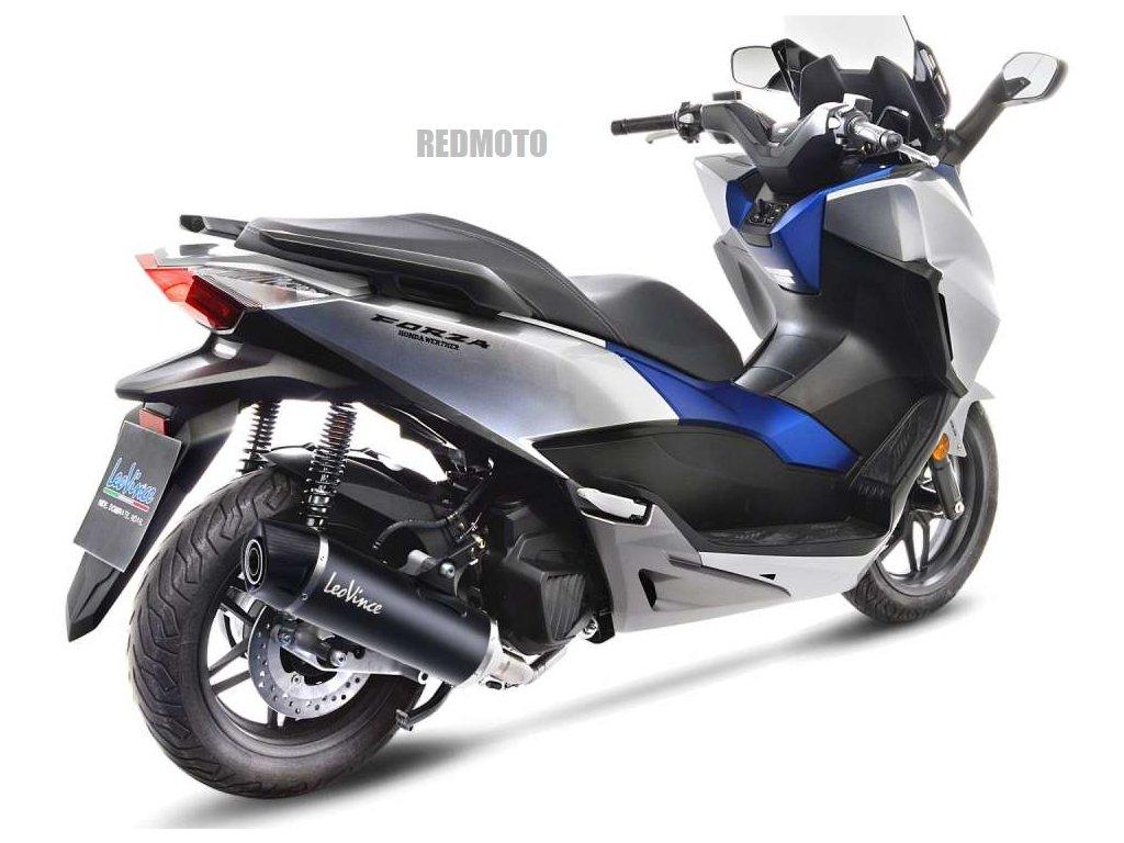 Výfuk Leo Vince Nero / Honda NSS 125 Forza / ABS (17-20)