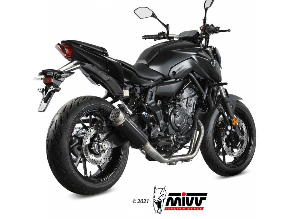 Výfuk MIVV GP PRO BLACK / Yamaha MT-07 (21)