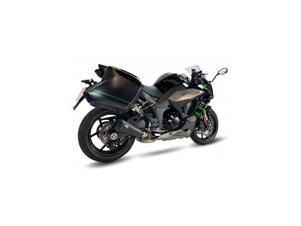 Výfuk IXIL RC1B RACE HEXACONE XTREM BLACK / Kawasaki Ninja 1000SX (20-21)