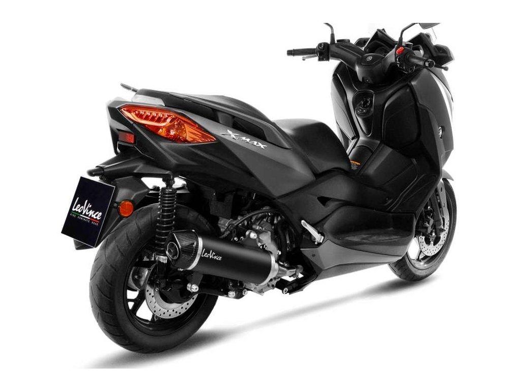 Výfuk LEO VINCE NERO / Yamaha X-MAX 300 (17-20)