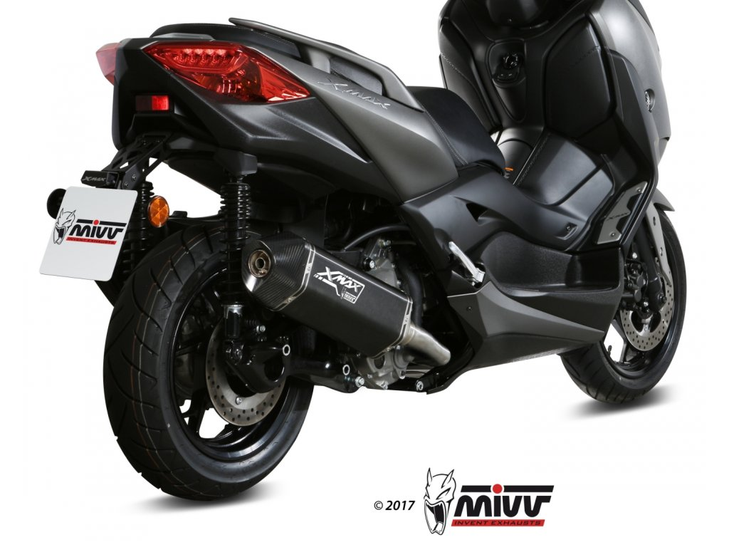 Výfuk MIVV Speed Edge BLACK NERO / Yamaha X-MAX 300 (17-20)