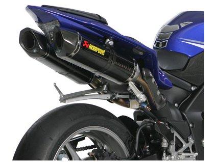 Výfuky Akrapovič CARBON HEXAGON / S-Y10SO10-HZC / Yamaha R1 (09-14)