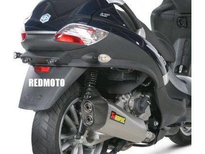 Piaggio MP3 400 500 LT 400 RST / XEvo 400 / Beverly 400 500 / výfuk Akrapovič HEXAGON DUAL EXIT / S-PI4SO3-HRSS