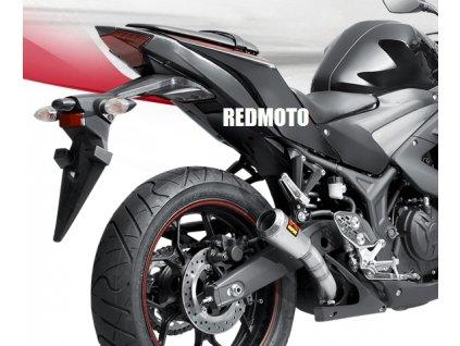 Výfuk Akrapovič GP RACING / S-Y2SO11-AHCSS / Yamaha YZF-R25 (14-18) / Yamaha MT-25 (15-18) / Yamaha YZF-R3 (15-18)