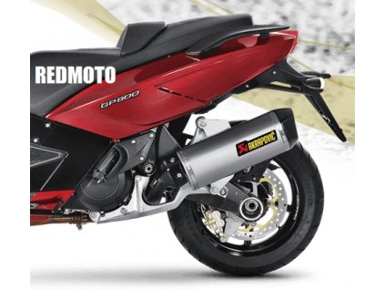 Výfuk Akrapovič HEXAGON / S-A8SO2-HWSS / Gilera GP 800 2008-15