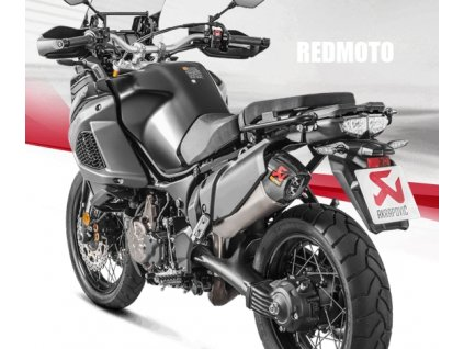 Výfuk Akrapovič TITAN HEXAGON / S-Y12SO2-HAAT / Yamaha XT 1200Z Super Ténéré (10-18)
