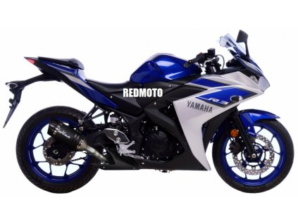 Výfuk Leo Vince LV PRO Carbon / 14125E / Yamaha YZF-R25 (14-17) / Yamaha MT-25 (15-17) / Yamaha YZF-R3 (15-17) / Yamaha MT-03 (16-18)