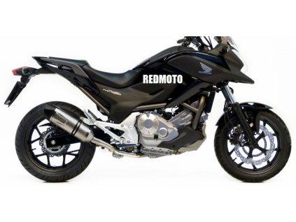 Výfuk Leo Vince LV ONE EVO / Honda NC 700 X - S - Integra - DCT - ABS (12-13) / Honda NC 750 X - S - Integra - DCT - ABS (14-15)