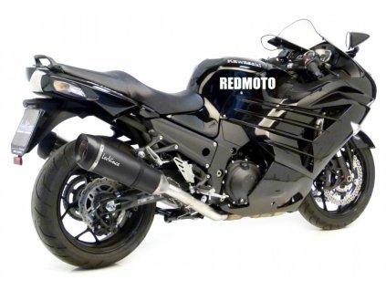 Výfuky Leo Vince Factory S Carbon / Kawasaki ZZR 1400 (12-15)