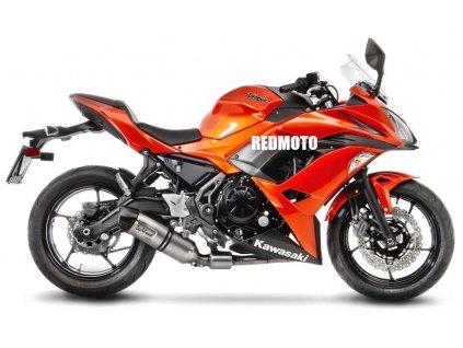 Výfuk Leo Vince LV ONE EVO Racing / Kawasaki Ninja 650 (17-18) / Kawasaki Z650 (17-18)
