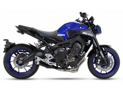 Výfuk IXIL L3XB DUAL HYPERLOW XL BLACK / Yamaha MT-09 (14-20) / TRACER 900 - GT (15-20) / XSR 900 (16-20)
