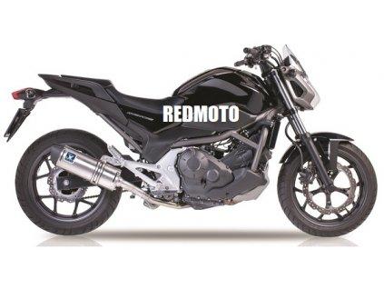 Výfuk IXIL HEXOVAL XTREM EVOLUTION / OH6062VSE / Honda NC 700 X - S - Integra - DCT - ABS (12-13) / Honda NC 750 X - S - Integra - DCT - ABS (14-18)