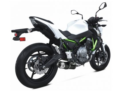 Výfuk IXRACE PURE BLACK / Kawasaki Ninja 650 (17-18) / Kawasaki Z650 (17-18)
