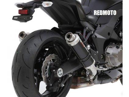 Výfuky MIVV GP BLACK / K.025.LXB / Kawasaki Z1000 (10-13)
