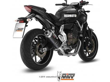 Výfuk MIVV GP Carbon / Y.045.L2S / Yamaha MT-07 a FZ-07 (14-18)
